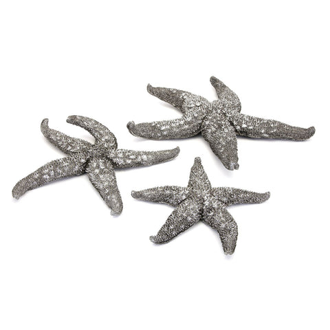 Magali Silver Starfish Wall Decors Set of 3