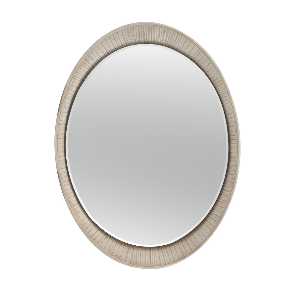 Oval Accent Mirror.