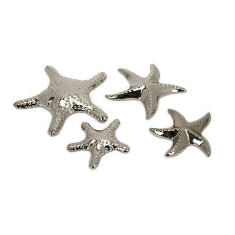 Cortland Silver Starfish Set of 4