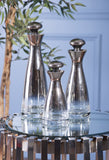 Brightly Glass Bottles with Stoppers - Set of 3 - Artifice Store