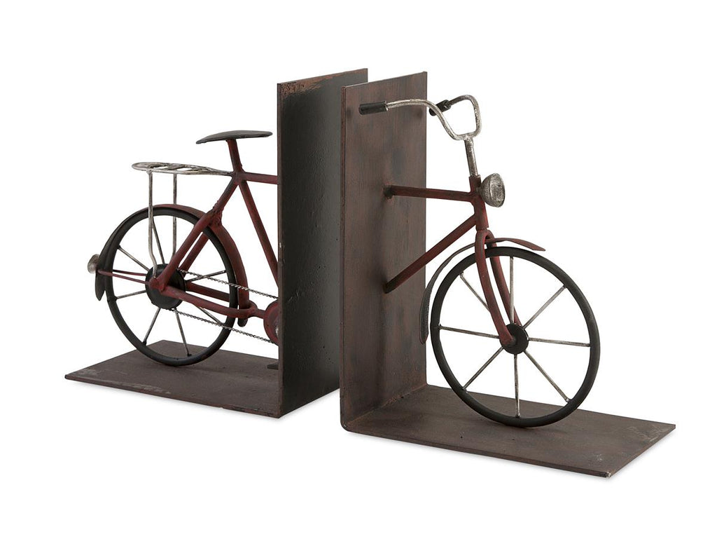 Renee Bicycle Bookends Set of 2