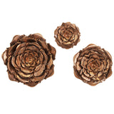 Blayney Metal Wall Flowers Set of 3 - Artifice Store