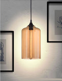 Bismite Ceiling Lamp Black & Amber - Artifice Store
