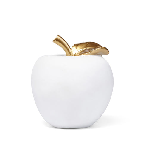 Golden Leaf Apple Statuary