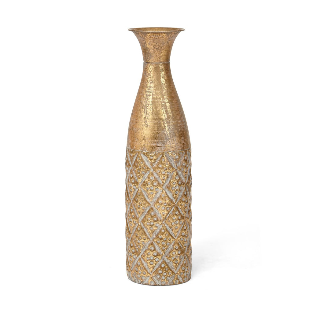 Nikora Narrow Vase Gold