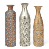 Nikora Narrow Vase Gold - Artifice Store