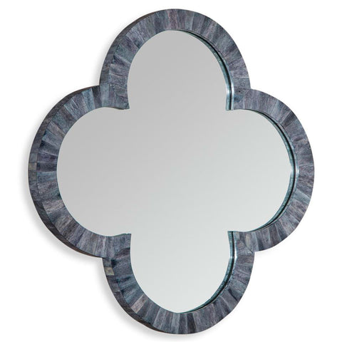 Cala Small Clover Mirror Gray