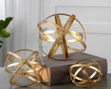 Stetson Gold Spheres Set of 3 - Artifice Store