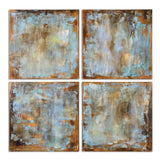 Accent Tiles Hand Painted Canvases Set of 4 - Artifice Store