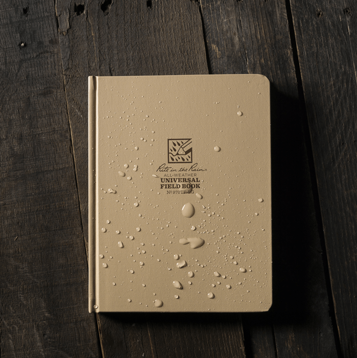 No: 970TF Tan Hardcover All Weather Field Book