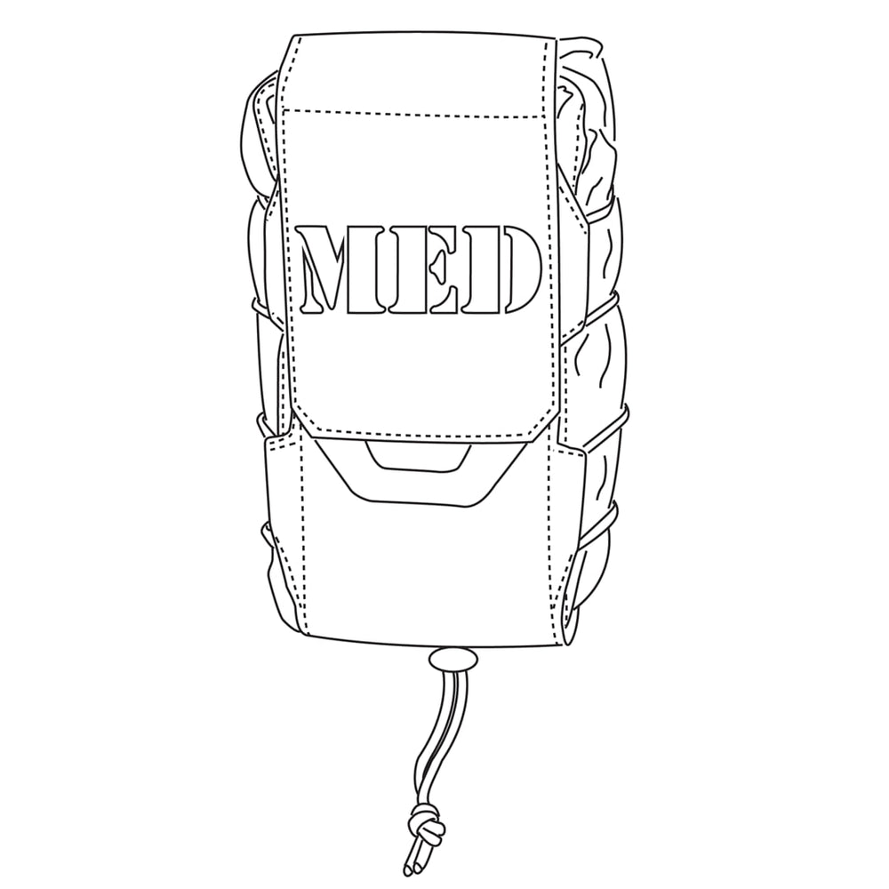 Vertical Medical Pouch