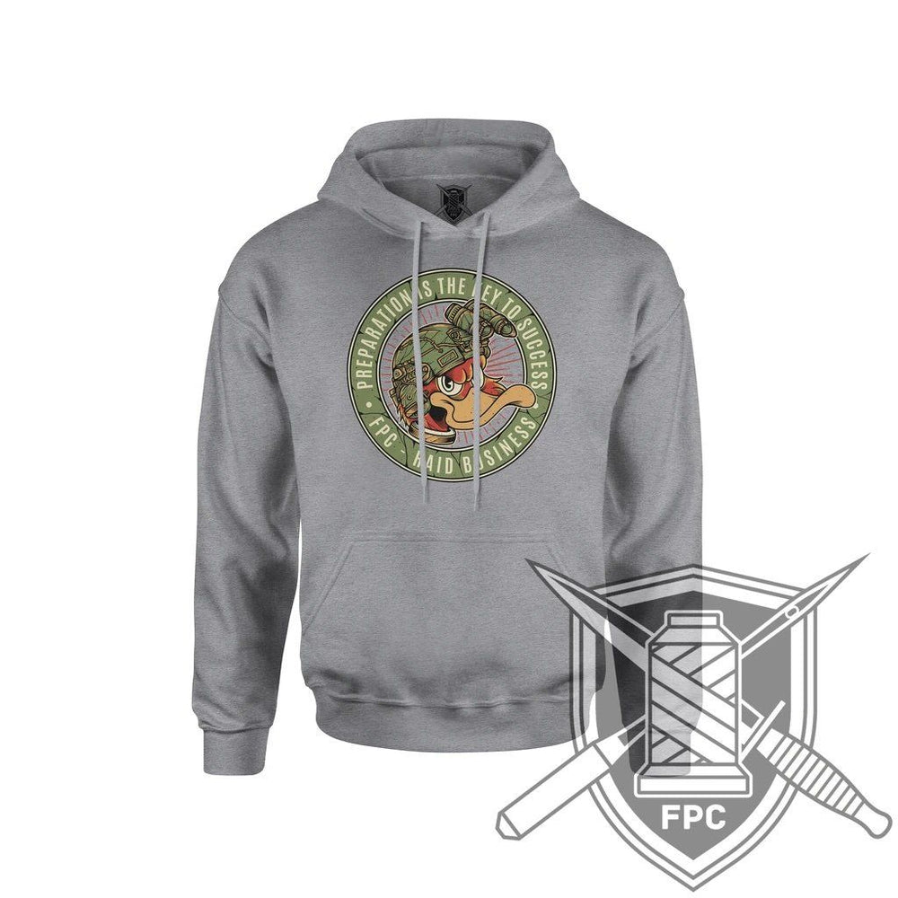 Preparation - Hoodie - assault grey