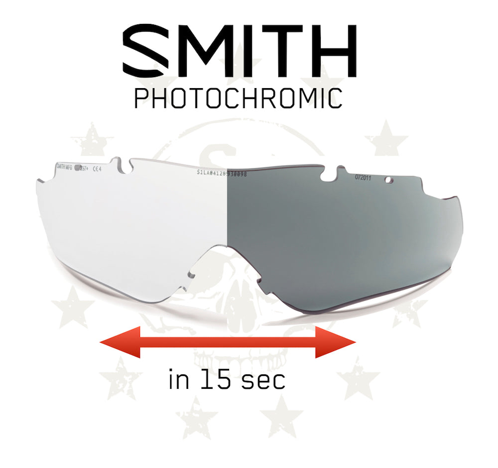 PHOTOCHROMIC Ersatzlinse AEGIS Echo - Regular Fit (ab Gr. 60) | S4 Supplies