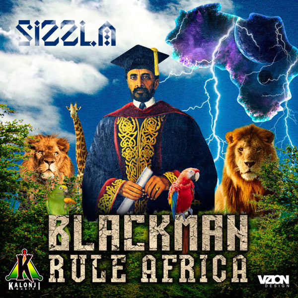 "New Sizzla Album ""BLACK MAN RULE AFRICA"" IN STORES NOW!"