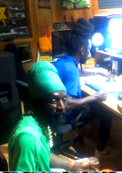 SIZZLA and YATTA KEN in the STUDIO Prepping NEW MUSIC