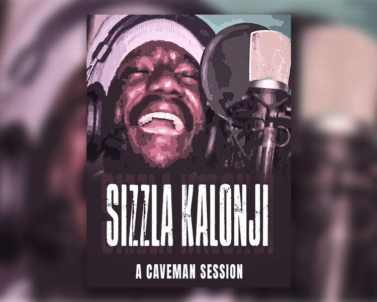 "ONE TAKE with SIZZLA KALONJI | ""The System Crash"" Live Recording @ CAVEMAN STUDIO 