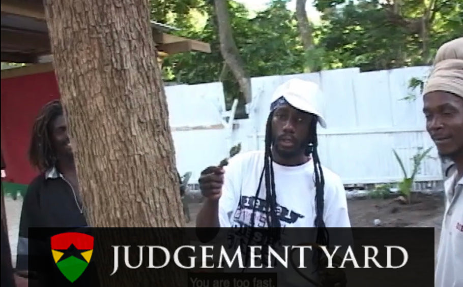 Sizzla Blaze Up The Chalwa In Judgement Yard (Many Moods Of Miguel)