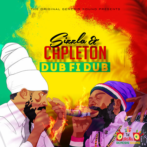 The Original Genesis Sound Presents: Sizzla & Capleton - Dub Fi Dub