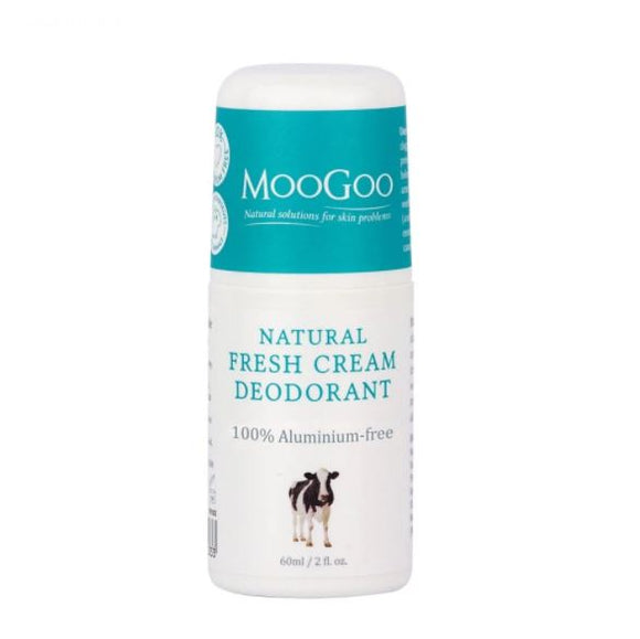 MooGoo Natural Fresh Cream Deodorant 60ml