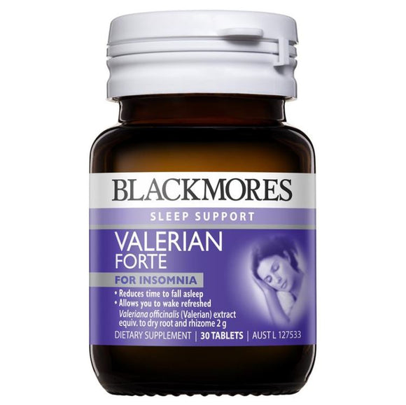 Blackmores Valerian Forte 2000mg 30 Tablets