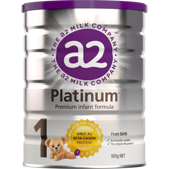 A2 Platinum Stage 1 Infant Formula 900g