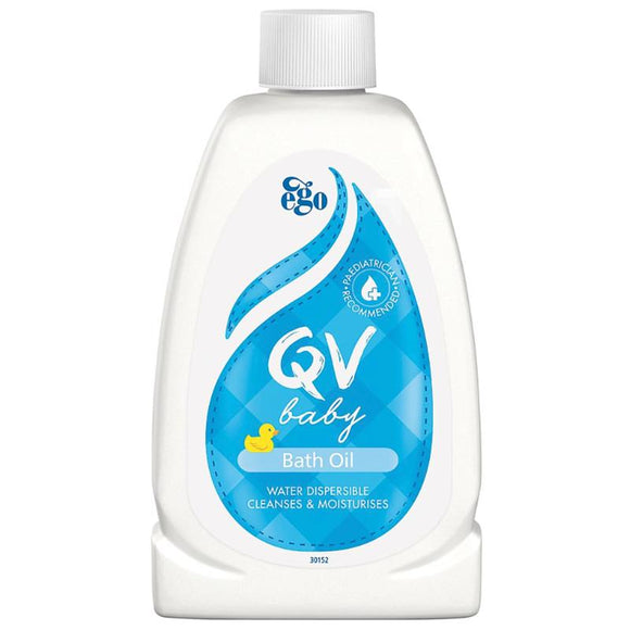 Ego QV Baby Bath Oil 250Ml Shower & Bath Oil
