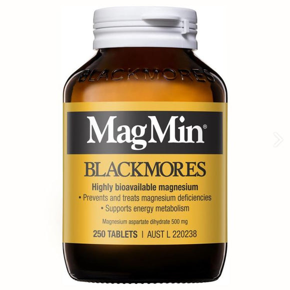 Blackmores Magmin 500mg 250 Tablets