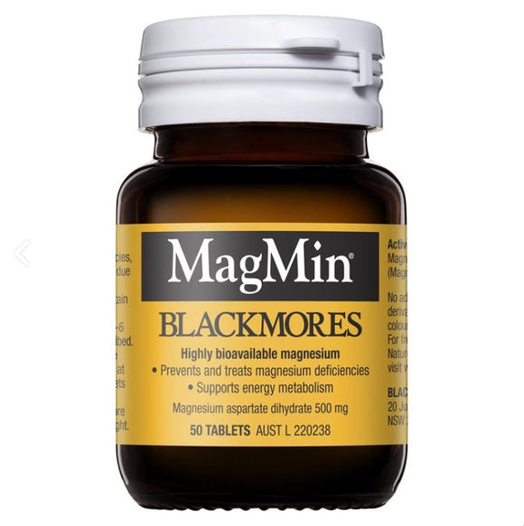 Blackmores Magmin 500mg 50 Tablets