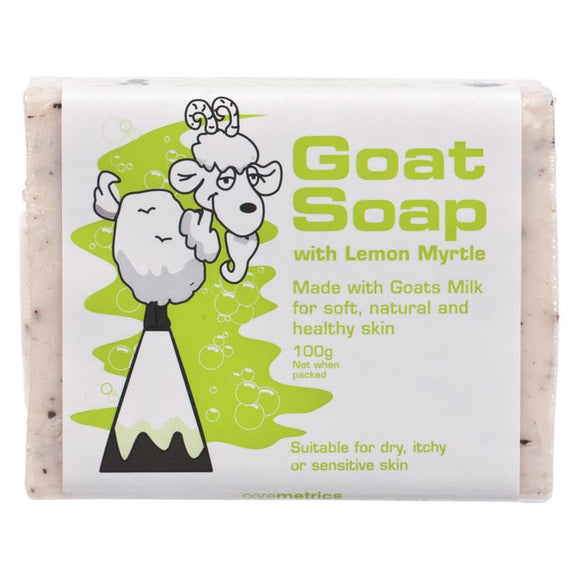 Goat Soap with Lemon Myrtle 100g