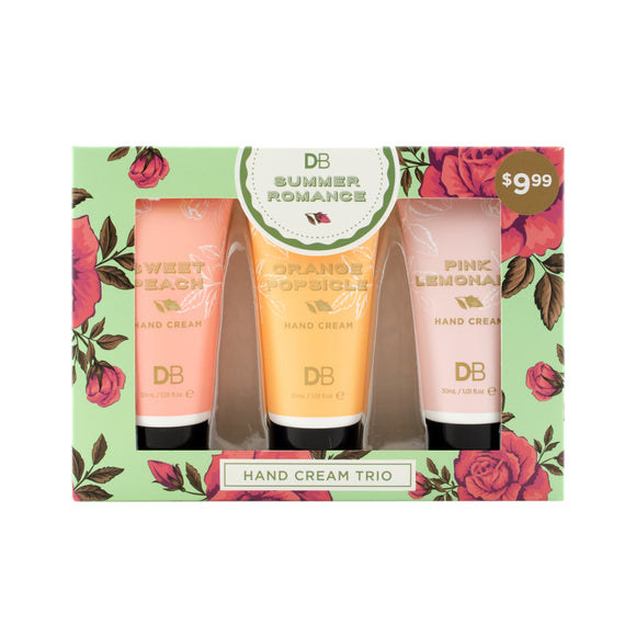 DB Summer Romance Hand Cream Trio