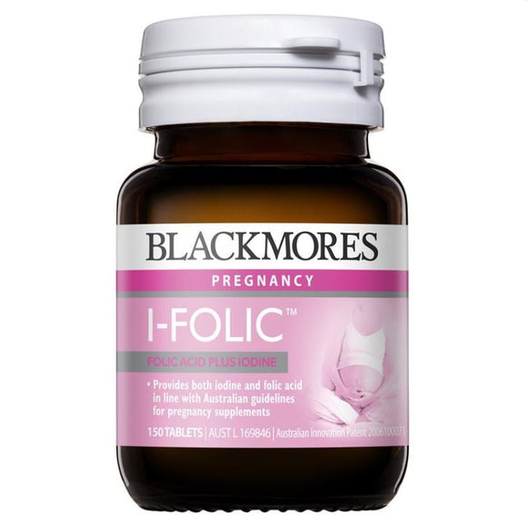 Blackmores I-Folic 150 Tablets