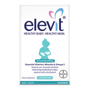 Elevit Breastfeeding Multivitamin Capsules 60 Pack (60 Days)