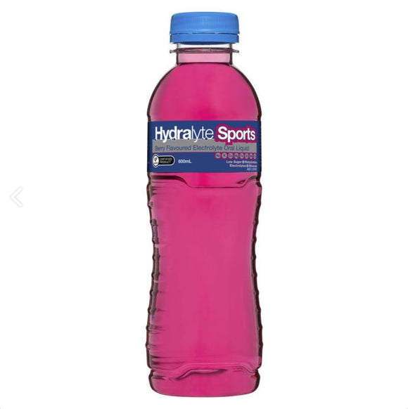 Hydralyte Sports Ready to Drink运动饮料 Berry 600ml