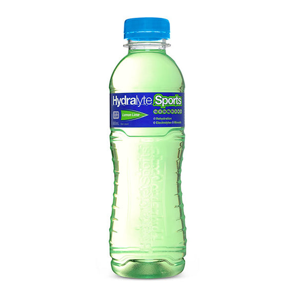 Hydralyte Sports Ready to Drink Lemon Lime - 600 mL