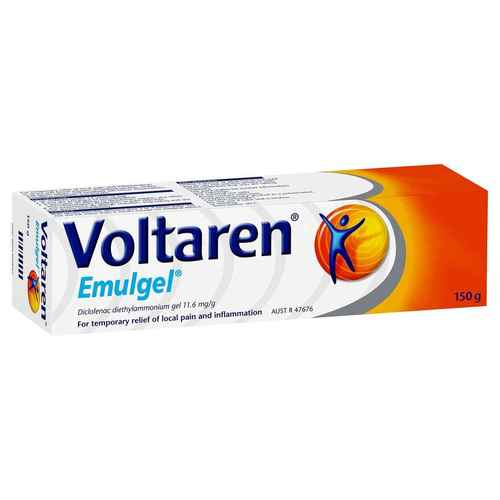 Voltaren Emulgel Muscle and Back Pain Relief 150 g