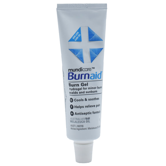Mundicare Burnaid Burn Gel Tube 50g