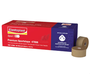 Elastoplast Premium Sports Tape 38mm x 13.7m (single roll)