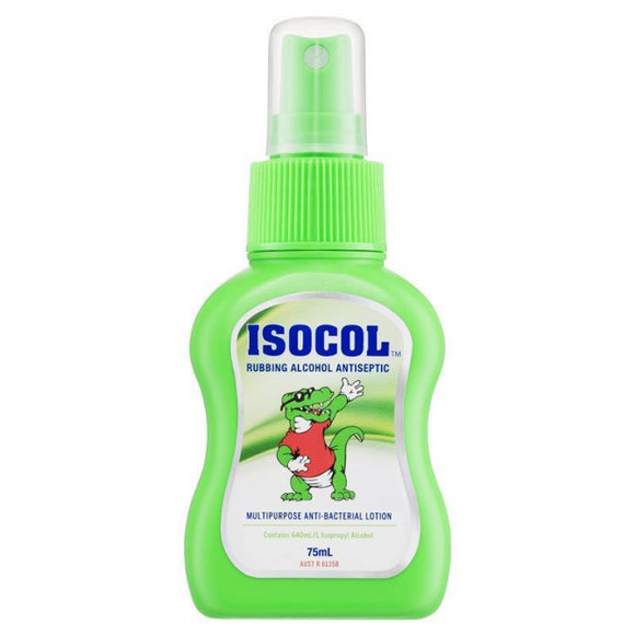 Isocol Rubbing Alcohol Spray 75ml