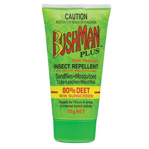 Bushman Plus UV Insect Repellent Gel 75g