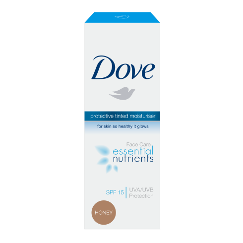 Dove Essential Nutrients Tinted Moisturiser Honey SPF 15 50ml
