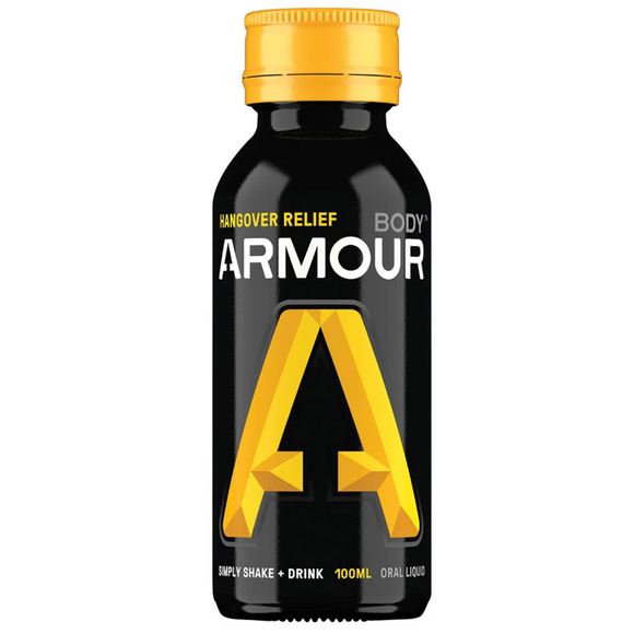 Body Armour Hangover Relief Drink + Liver Support 100ml