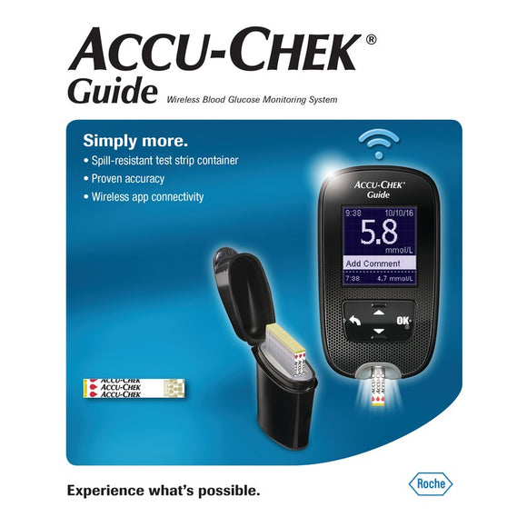 Accu-Chek Guide Wireless Blood Glucose Meter Kit