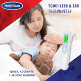Medescan 2 in 1 – Touchless & Ear Thermometer