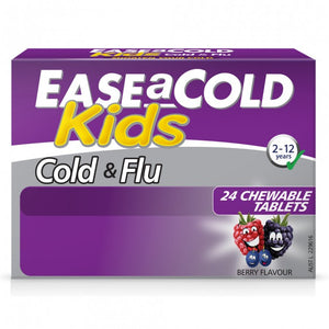 Ease A Cold & Flu Kids Berry 24 Chewable Tablets