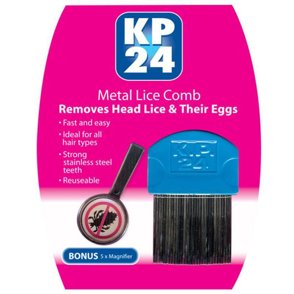KP24 Long Tooth Headlice Comb
