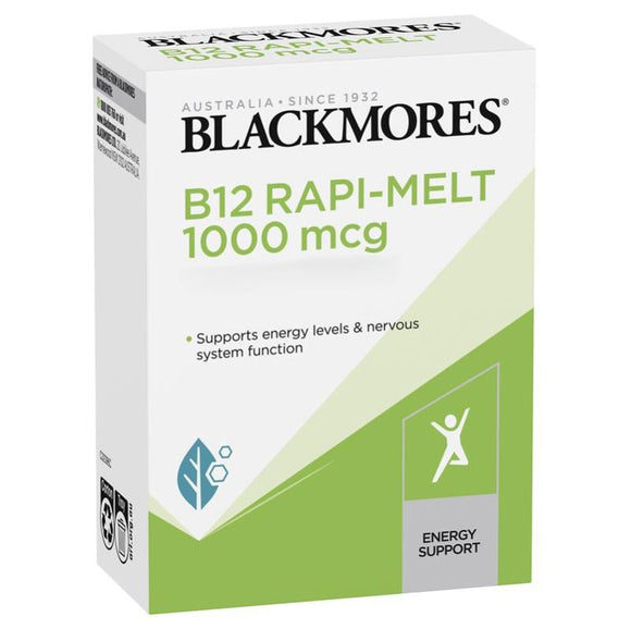 Blackmores B12 Rapi-Melt 1000mcg 60 Tablets