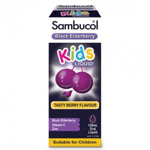 Sambucol Black Elderbrerry Kids Liquid 120ml