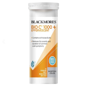 Blackmores Bio C 1000 + Effervescent 10 Tablets