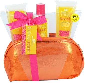 DB Citrus Splash With Cosmetic Bag