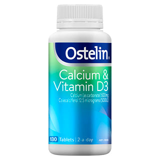 Ostelin Calcium & Vitamin D3 130 Tablets